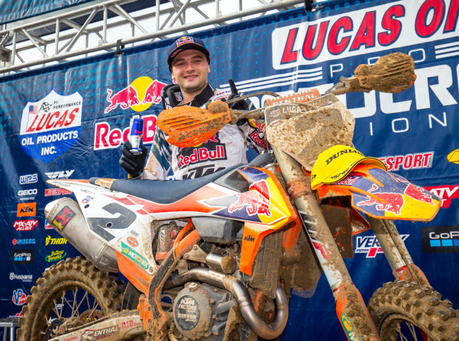Injury update: Cooper Webb – Out for the season