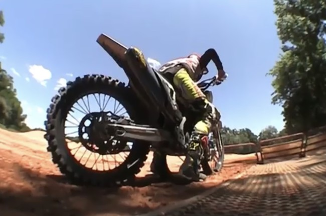 Video: Jason Anderson putting in the laps for outdoors