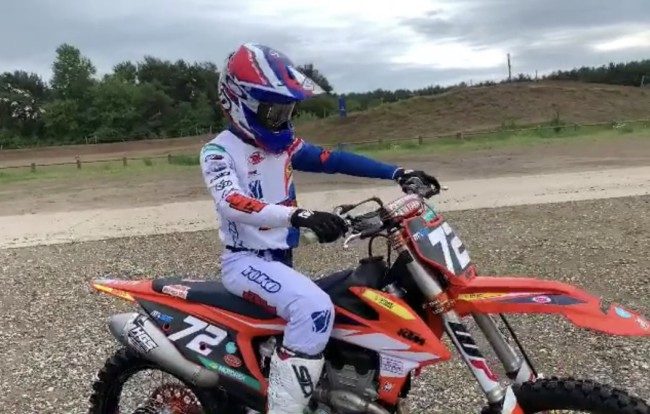 Video: Liam Everts on a 250f