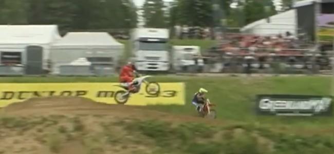 Video: Cairoli's BIG crash in Latvia