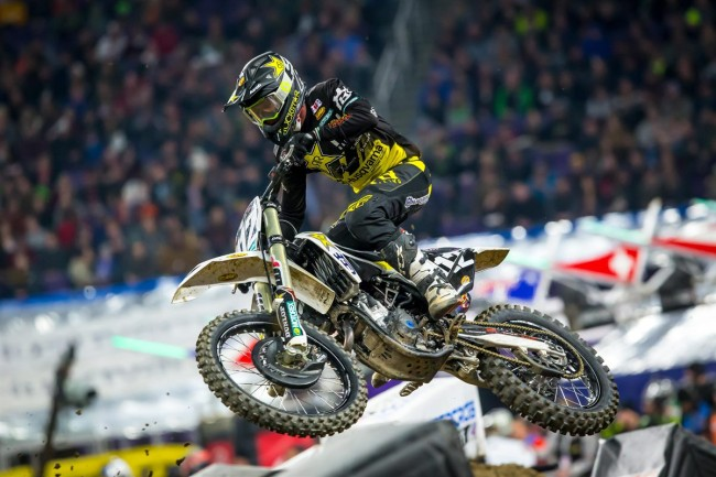 Covington on his first supercross, Wilson on his first race back with Factory Husqvarna