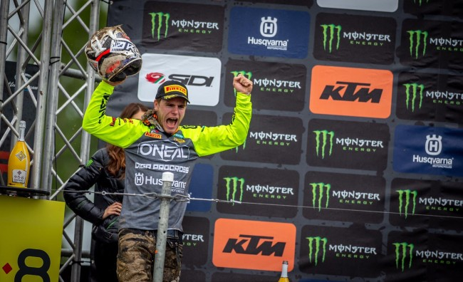 Pootjes on his first GP podium – super happy!