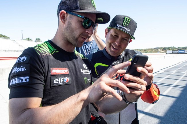 Jonathan Rea on Jeremy McGrath's road racing skills – impressed!