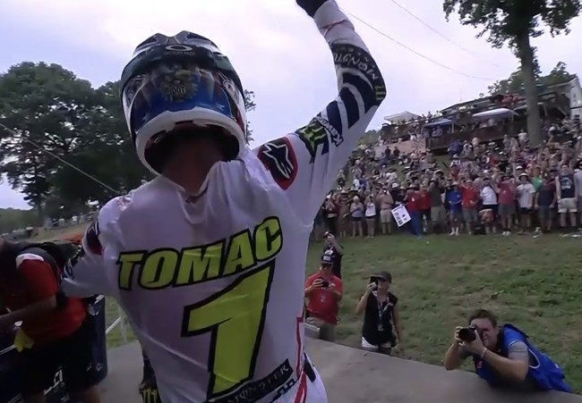 Tomac clinches the 2019 AMA 450 motocross championship at Budds Creek!