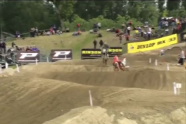 Video: Scary crash for Vialle!