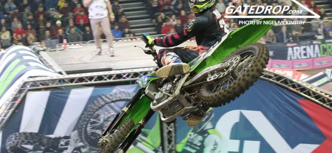Pro qualifying results: Arenacross UK RD3 – Birmingham