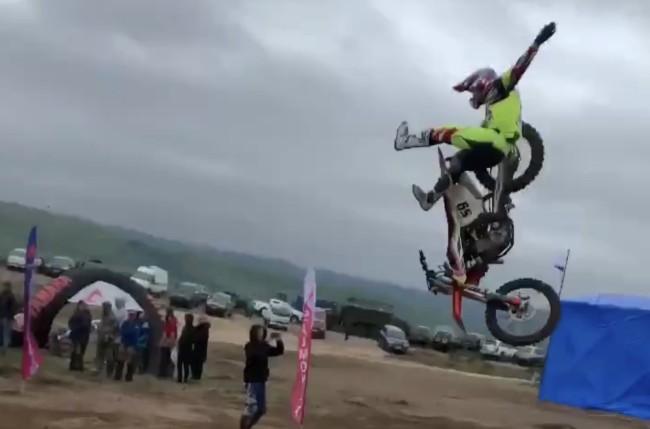 Video: HUGE Tonkov crash!