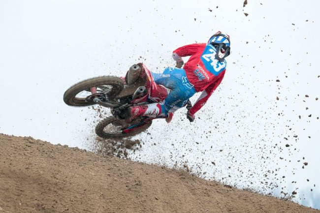 Gajser on winning his first moto of the year