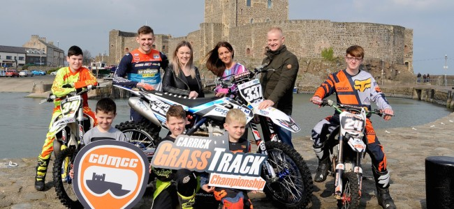 Carrickfergus MCC back with three round grasstrack series