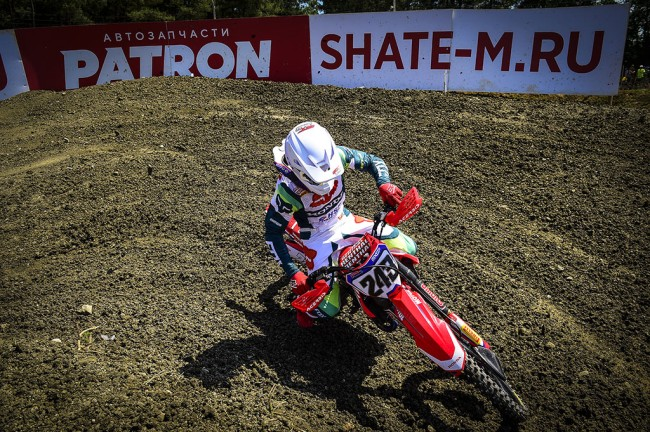 Race report: Gajser does the double in Russia and takes the red plate!