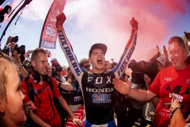 Gajser on his third world title – amazing feeling!