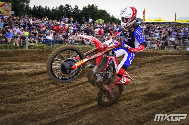 Interview: Tim Gajser on winning in Lommel, closing in on the title and MXoN