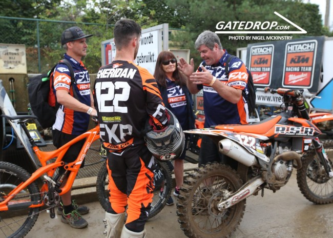 Interview: Jake Sheridan on his EMX250 debut and riding Lommel