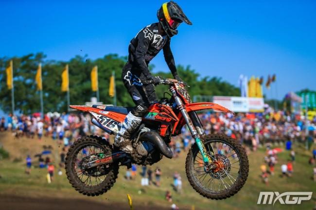 Results: Laengenfelder wins EMX125 first moto in Sweden