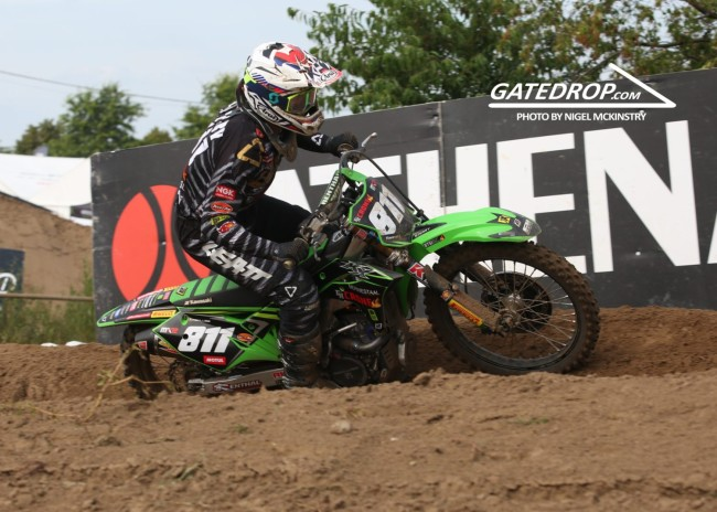 Interview: Adam Sterry on a tough Lommel, getting a podium, MXGP & MXoN