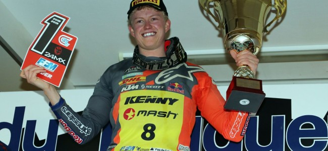 Nathan Watson on his Le Touquet victory