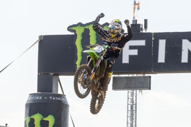 Van de Moosdijk becomes EMX250 champ