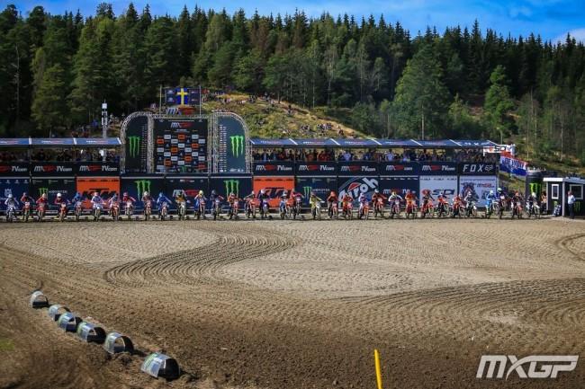 Race results: EMX125 – Sweden
