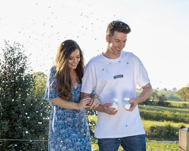 Searle to become a father