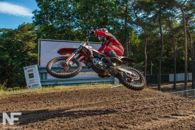 Greg Smets in for EMX250 round at Lommel