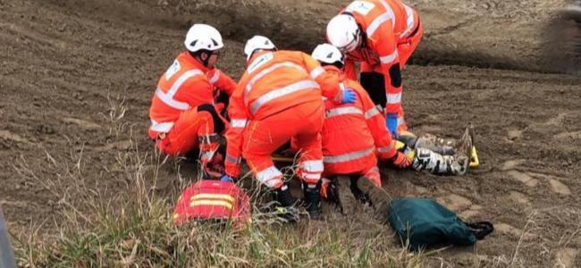 Dankers injured in Mantova