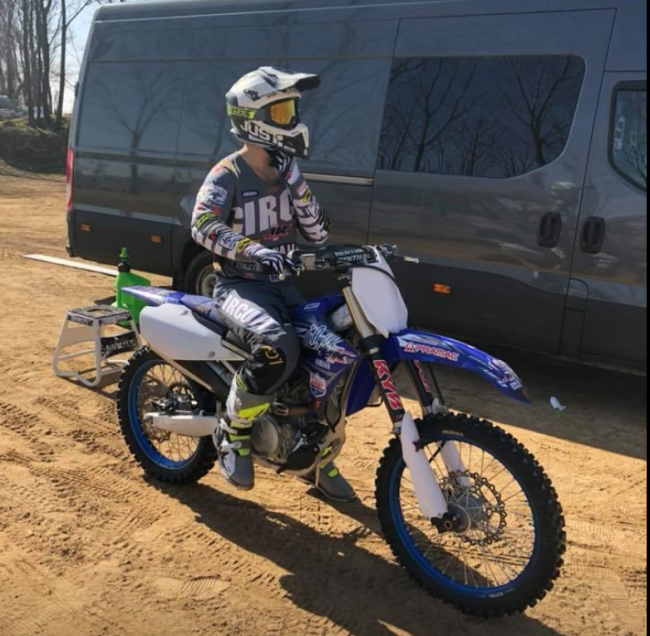 It's EMX250 for Haavisto