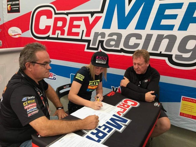 Berry signs with CreyMert Racing