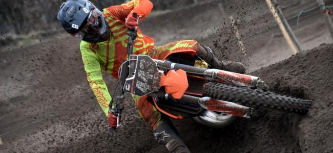 Matias Vesterinen lands EMX250 ride