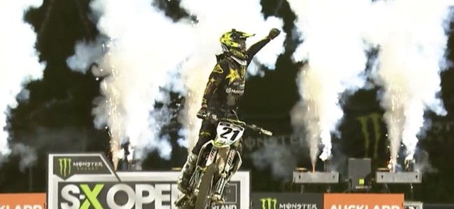 Video: Auckland supercross highlights