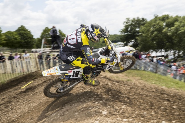 Olsen on a hard-fought podium in France – I just gave it all I had!