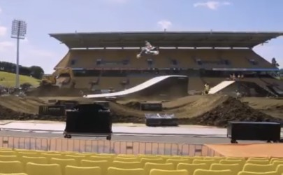 Video: Auckland supercross press day