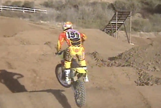 TBT: Pastrana hitting possibly the biggest supercross whoops ever!