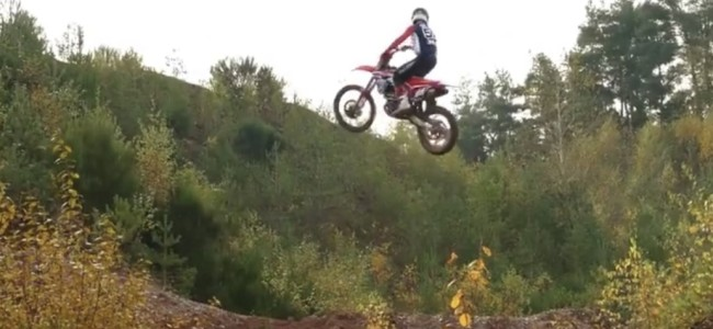 Video: Clarke on the 250 Buildbase Honda