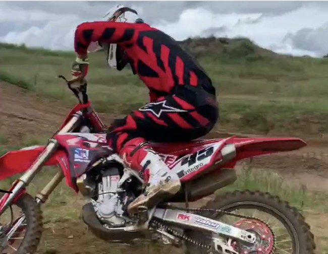 Video: Jake Nicholls looking good back on the Buildbase Honda