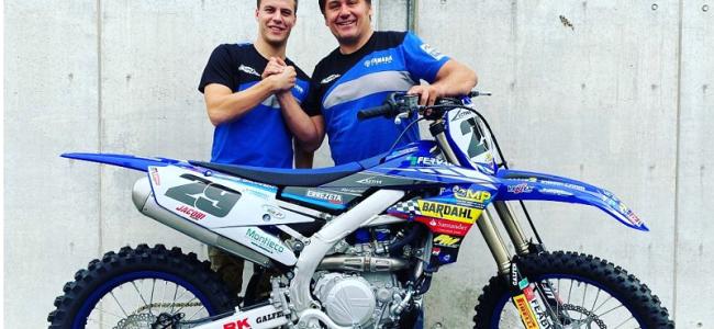 Jacobi goes blue for rookie MXGP season