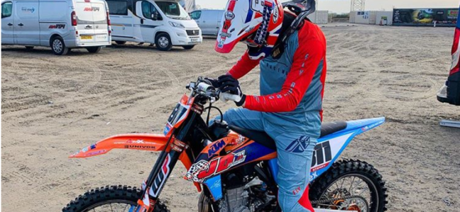 Sterry's new look for rookie MXGP season