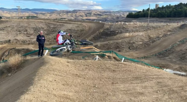 Video: Clement Dealle – testing at a picturesque track