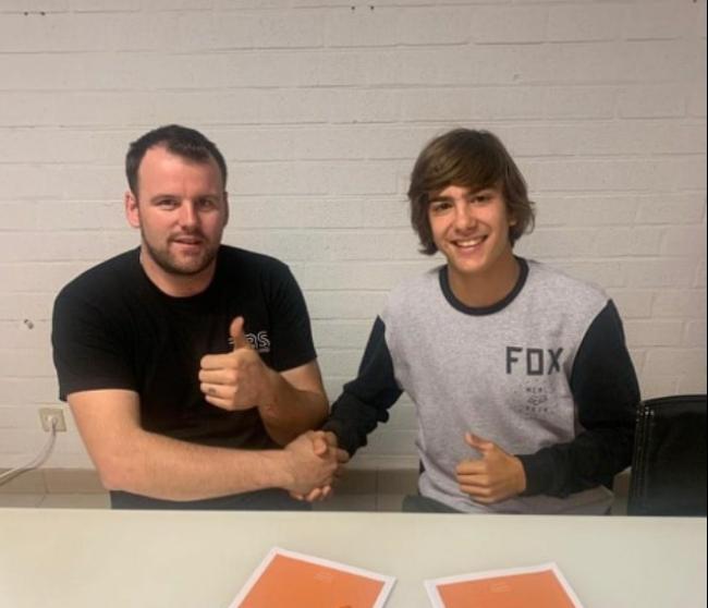 Afonso Gaidao signs with TBS KTM
