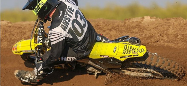 Anstie's AMA race number revealed