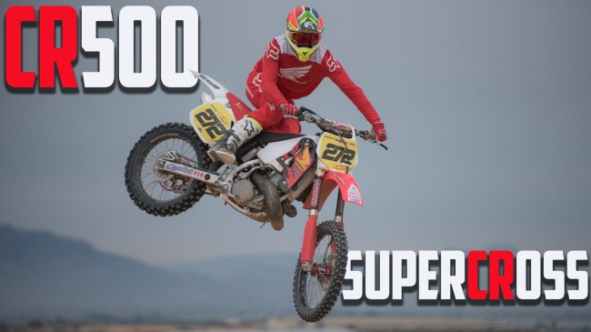 Video: Neville Bradshaw – CR500 does Supercross!