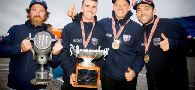 Mark Chamberlain Continues as Team GB MXoN Manager