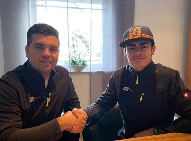Lion Florian signs with WZ Racing