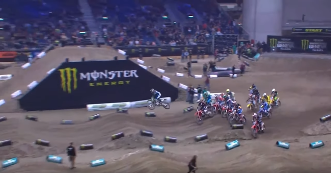 Video: Geneva Supercross 450 Main Event – Friday