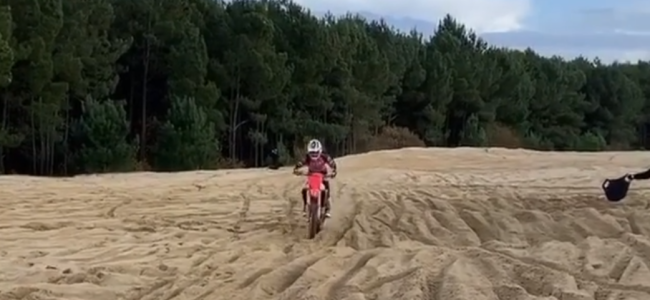 Video: Guillod in gnarly sand