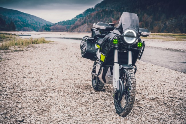 Husqvarna launch first travel motorcycle