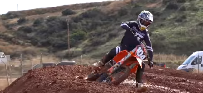 Video: Brian Moreau – Supercross on his TLD KTM