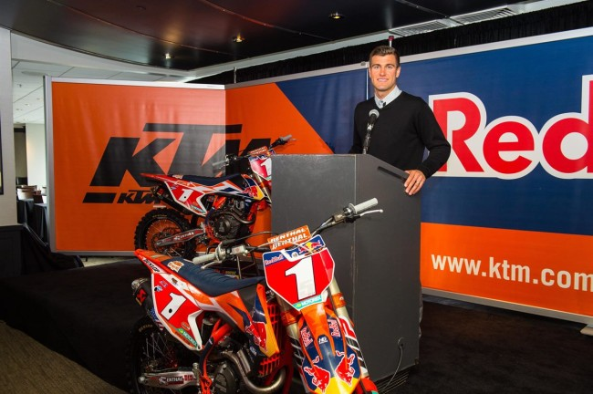 KTM on Dungey going to Geico Honda
