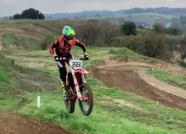 Video: Cairoli testing on hard pack