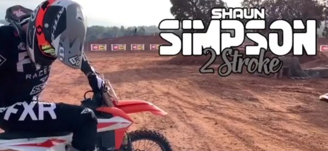 Video: Simpson two-stroke action!