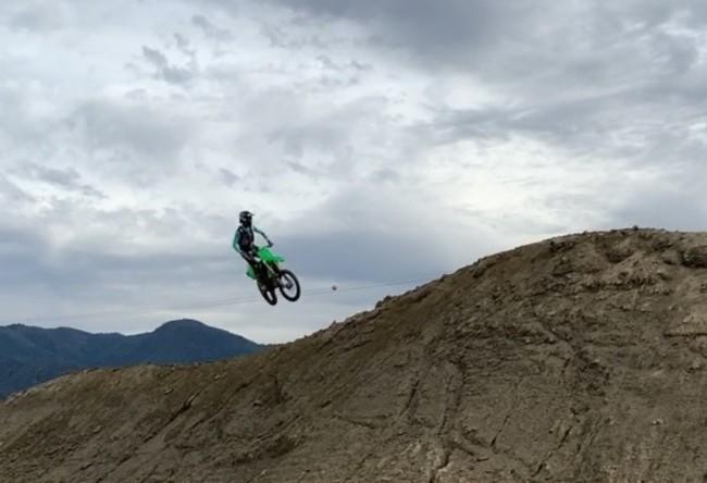 Video: Harrison preparing for MX2